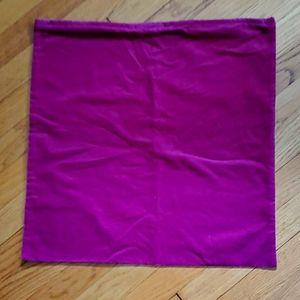 velvet IKEA throw pillow cover